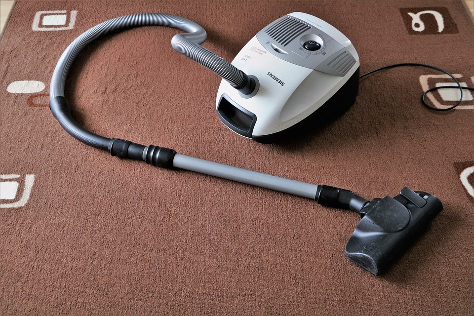 stain-free carpets with vaccum